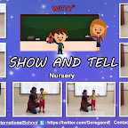 Show and Tell Activity - Recap of Shapes by Nursery Section (2018-19), Witty World, Goregaon East