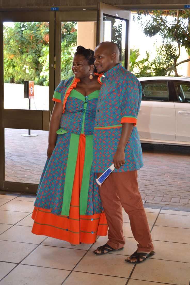Shweshwe Traditional Wedding Dresses 20   style you 20