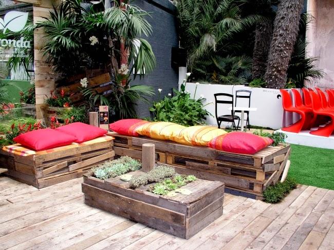 gartenmöbel selber bauen:  sie tisch aus europaletten selber, Garten und Bauen