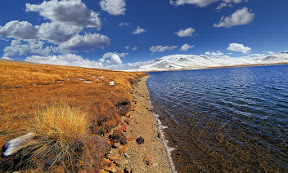 Edge of Sheshar Lake