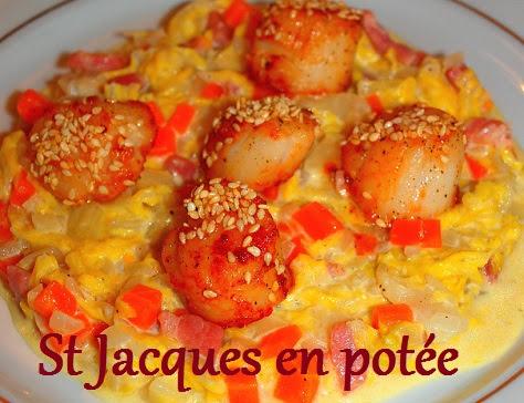 Saint-Jacques en potée