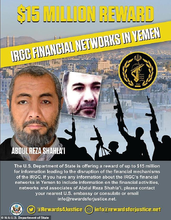 Komandan Garda Revolusi Iran di Yaman Lolos dari Pembunuhan AS