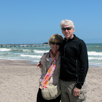 At the beach on Swakopmund