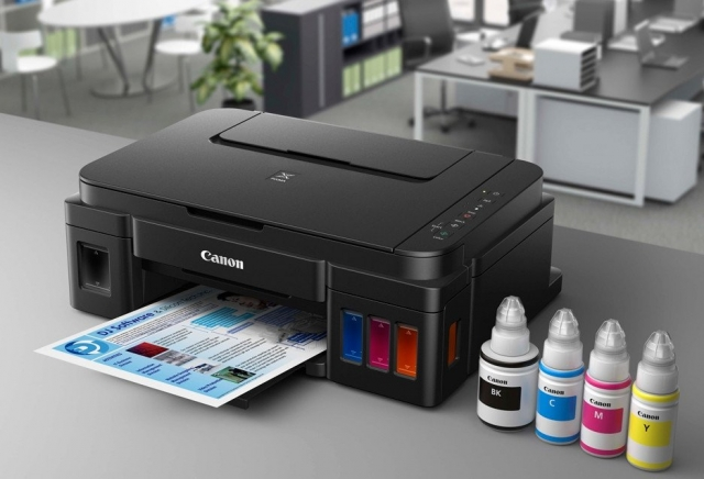 Reset Canon G1400 printer's Ink Pad at the end of it service life error