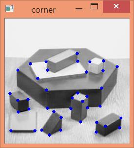 Detección de esquinas con cv2.goodFeaturesToTrack() en Python