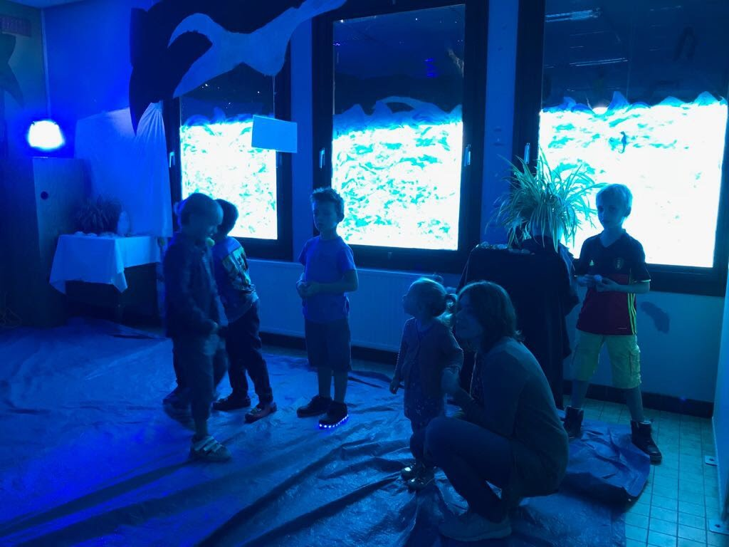 De Knetters maakten een zeeaquarium. - IMG_8788.JPG