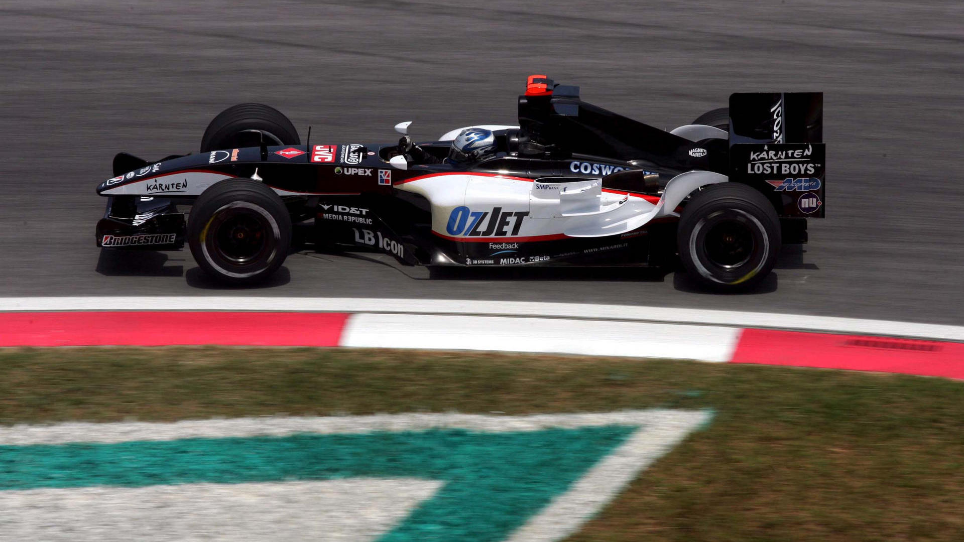 Minardi f1 2005 - foto by F1-Fansite.com