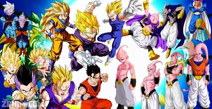 Kết quả hình ảnh cho 7 Viên Ngọc Rồng - Dragon Ball Kai