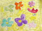 Water Color Flowers by Mackenzie