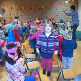 Sinterklaas bij de kleuters
