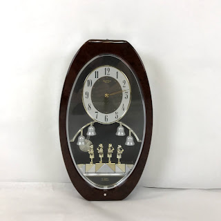 Menet 'Small World' Chiming Wall Clock