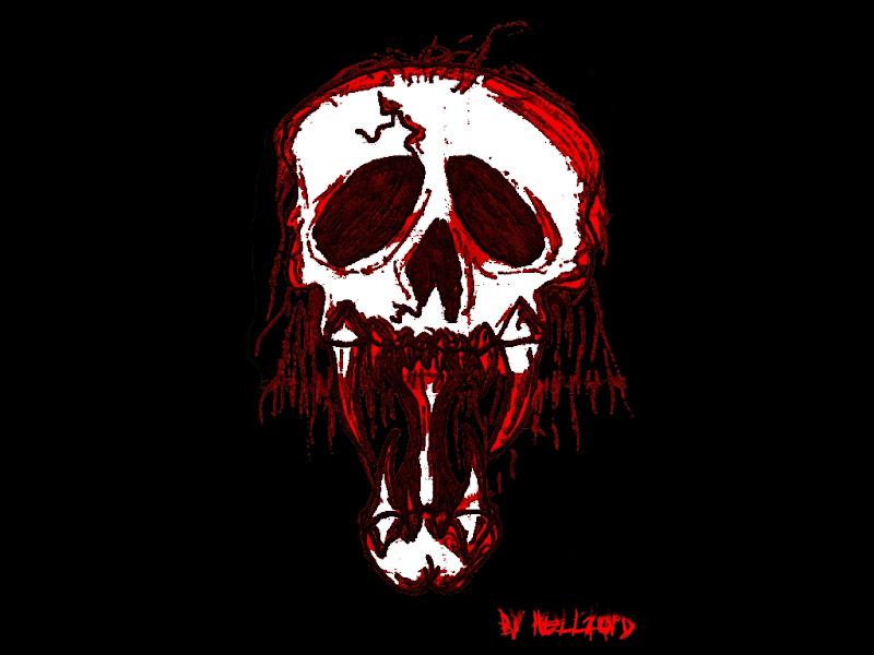 Evil Bloody Skull, Death