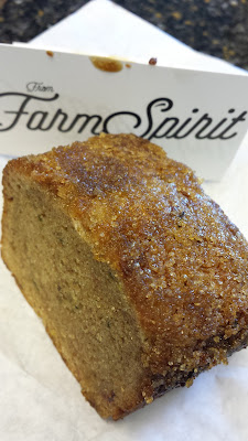 A goodbye gift from Farm Spirit via Chef Ricardo's zucchini bread