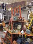 bo?onarodzeniowy jarmark w siedlcach 2009 ( centrum handlowe arche ) , II nagroda za ekspozycj?... , ceramics , ceramika