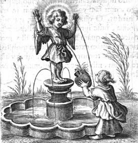 "Эмблема 17 из книги ""Schola cordis"""