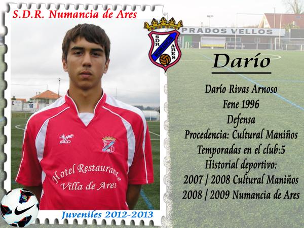ADR Numancia de Ares. Dario.