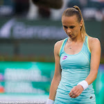 INDIAN WELLS, UNITED STATES - MARCH 17 : Magdalena Rybarikova in action at the 2016 BNP Paribas Open
