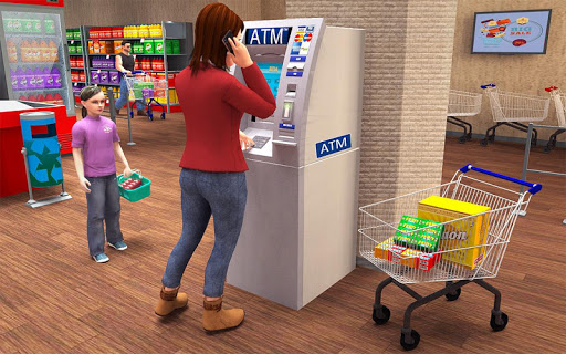 Super Market Atm Machine Simulator: Shopping Mall  screenshots 8