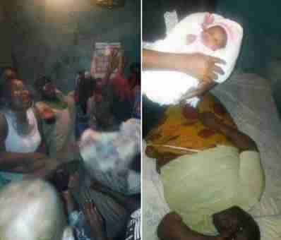 70-Year Old Woman Welcomes First Child In Delta State [Photos]