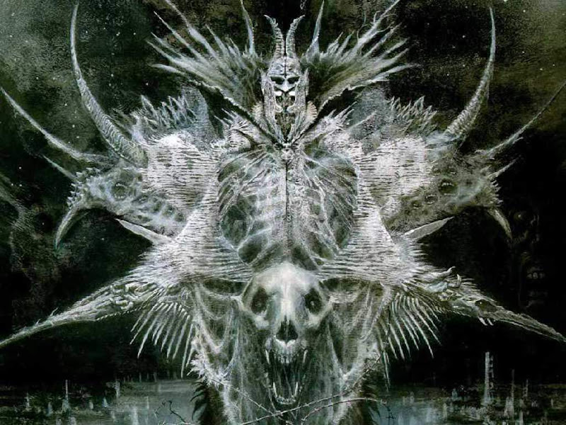 Lord Of Dead In White, Death