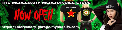 Mercenary Garage Merchandise - T-Shirts, Hoodies, Hats