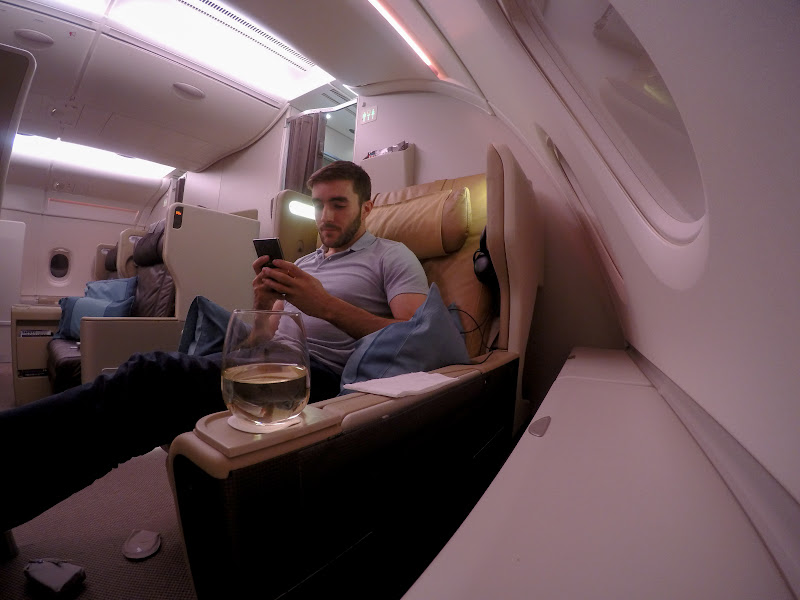 REVIEW – Singapore Airlines : Business Class – Singapore to Frankfurt (A380)