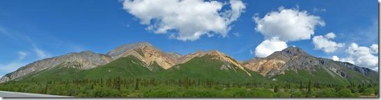 Talkeetna Mountains, Glenn Highway between Glennallen and Palmer