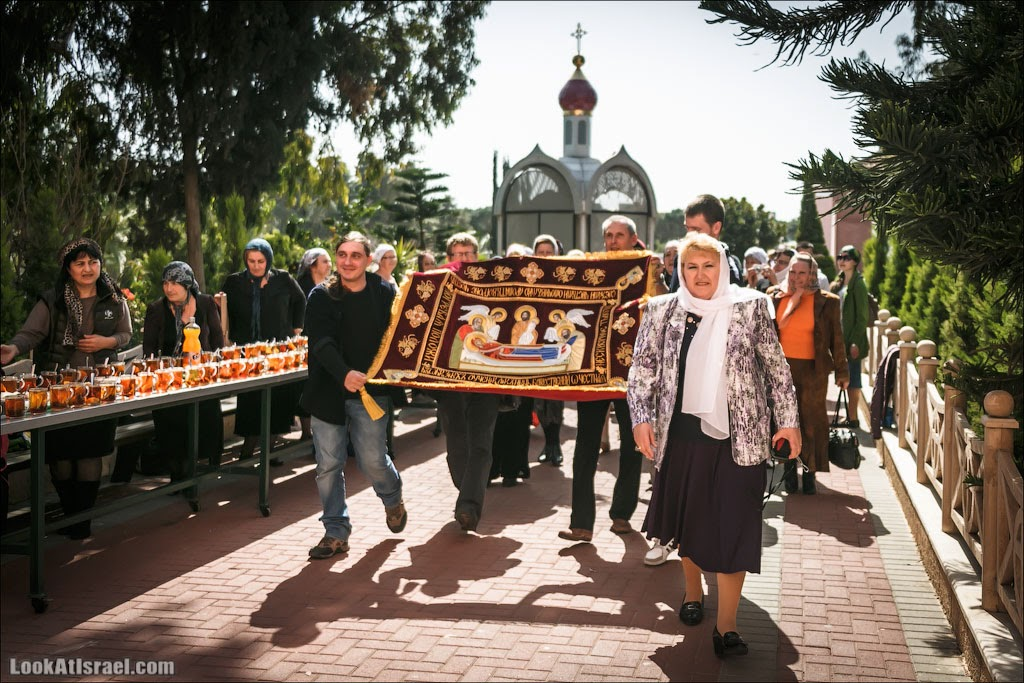 Дарение плащаницы: как это было | LookAtIsrael.com - Фотографии Израиля и не только...