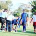 Panic as Tanzanian Footballer Drops Dead After Scoring Goal (see photo)
