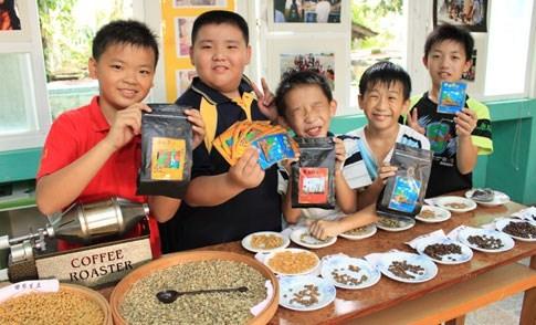 古坑-華南國小的小小咖啡師走讀人與土地關係