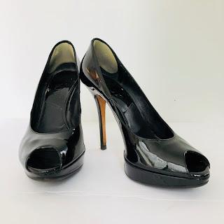 Dior Patent Peeptoes