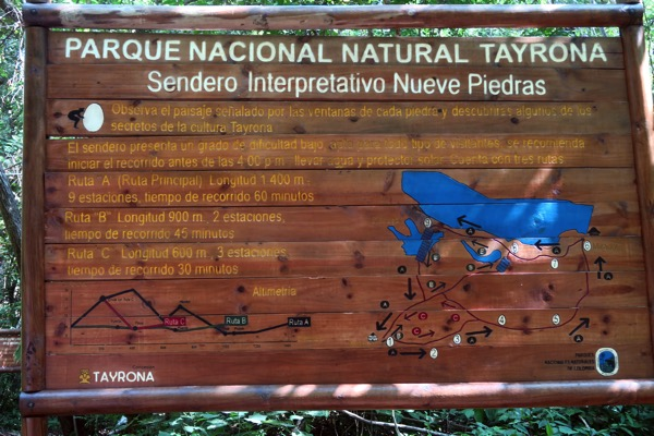Tayrona Map 2