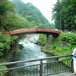 bridge in Nikko in Nikko, Totigi (Tochigi) , Japan