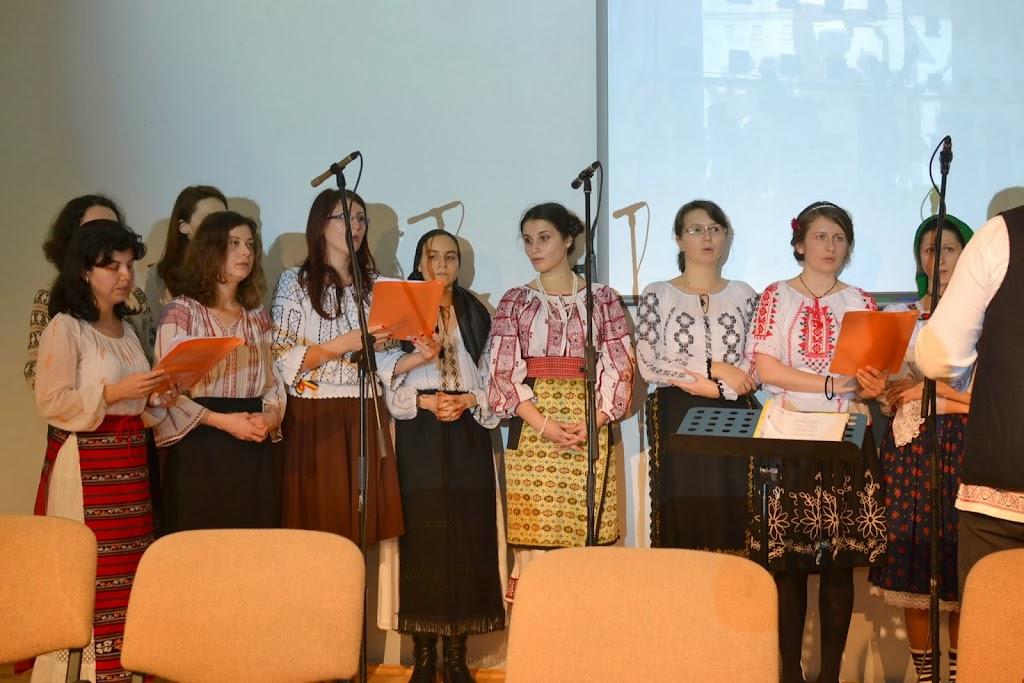 Seara cultural duhorvniceasca la FTOUB 264