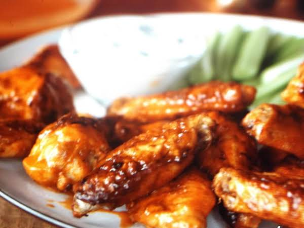 Oven Fried Buffalo Wings