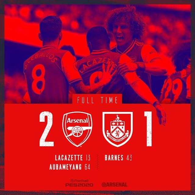 Arsenal vs Burnley 2-1 – Highlights [DOWNLOAD VIDEO]