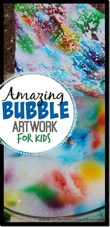 Amazing-Bubble-Artwork-for-Kids-summer-kids-activities-summer-bucket-list