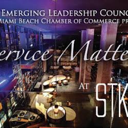 "ELC presents ""Service Matters"" at STK"