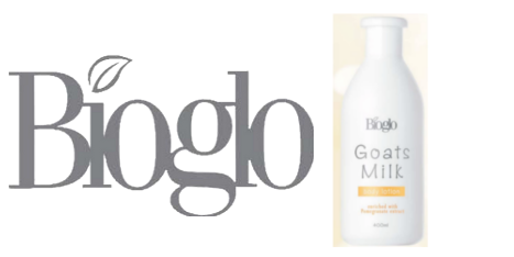 Bioglo Goats Milk Body Lotion Enriched with Pomegranate