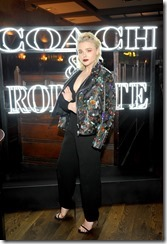 HOLLYWOOD, CA - MARCH 30:  Actor Chloe Grace Moretz attends the Coach & Rodarte celebration for their Spring 2017 Collaboration at Musso & Frank on March 30, 2017 in Hollywood, California  (Photo by Donato Sardella/Getty Images for Coach)