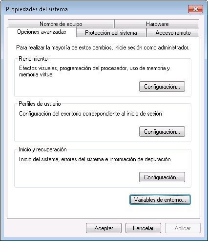 Configurar equipo para acceso a Oracle 12c con Oracle Instant Client Package