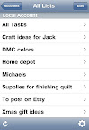 iPhone Apps for the Organized Crafter