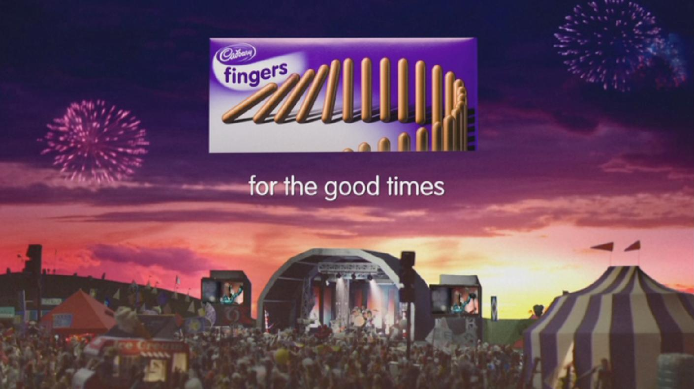 Cadburys Chocolate Advert Cadbury's Chocolate Finger