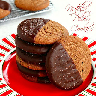 Nutella Pillow Cookies.