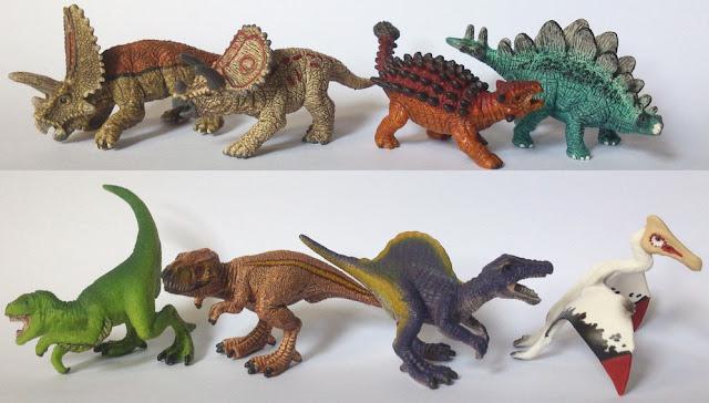 Đồ chơi Mô hình Khủng long cỡ nhỏ Mini Dinos Schleich chất liệu nhựa cao cấp an toàn