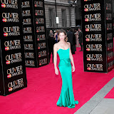 WWW.ENTSIMAGES.COM -   Margo Stilley     at      The Olivier Awards at Royal Opera House, Covent Garden, London, April 28th 2013                                               Photo Mobis Photos/OIC 0203 174 1069