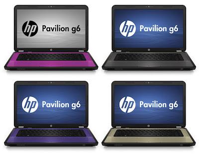 Spesifikasi Laptop HP Pavilion g6-1000 Series Terbaru