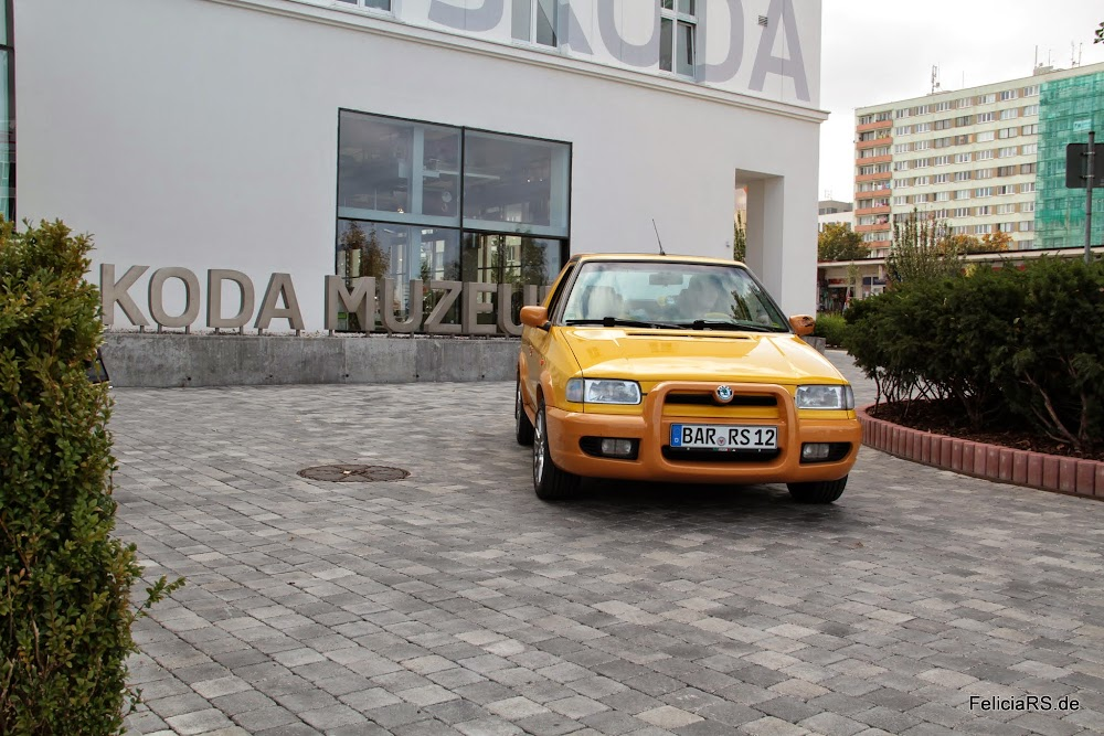 Felicia FUN am Škoda Museum