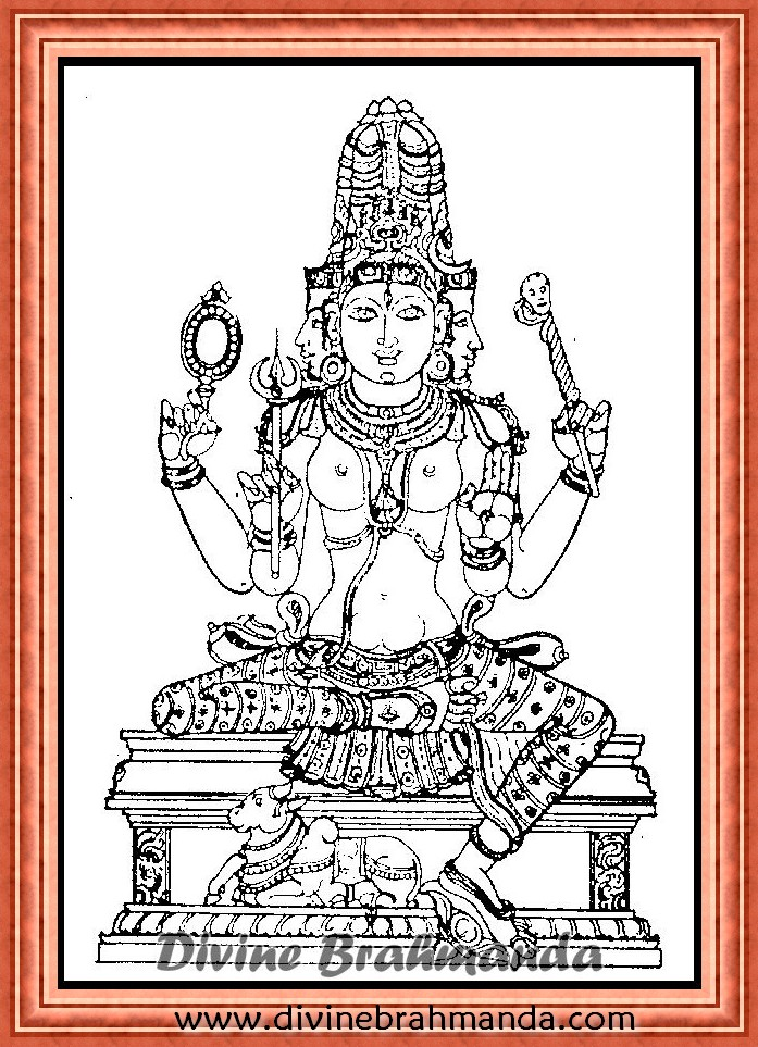 Soundarya Lahari Sloka, Yantra & Goddess To Maintain Sanctity Of Life - 71