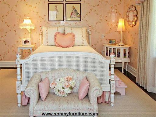 Rộn ràng hoa lá trong phòng ngủ mùa xuân hè_nội thất phòng ngủ-10